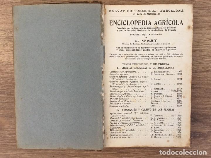 Libros antiguos: Destileria Agricola e Industrial - Eugenio Bullanger LOTE Obra completa 2 tomos - Foto 3 - 118810235
