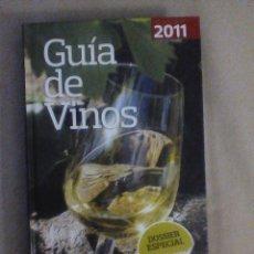 Libros antiguos: GUIA DE VINOS 2011. DOSSIER ESPECIAL VINOS BLANCOS DE RUEDA. OCU GUIAS PRACTICAS.. Lote 118839507