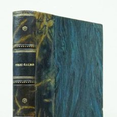 Libros antiguos: PÉREZ GALDÓS (BENITO). O'DONNELL. EPISODIOS NACIONALES. 1920. ENCUADERNACIÓN EN PIEL. Lote 118985643