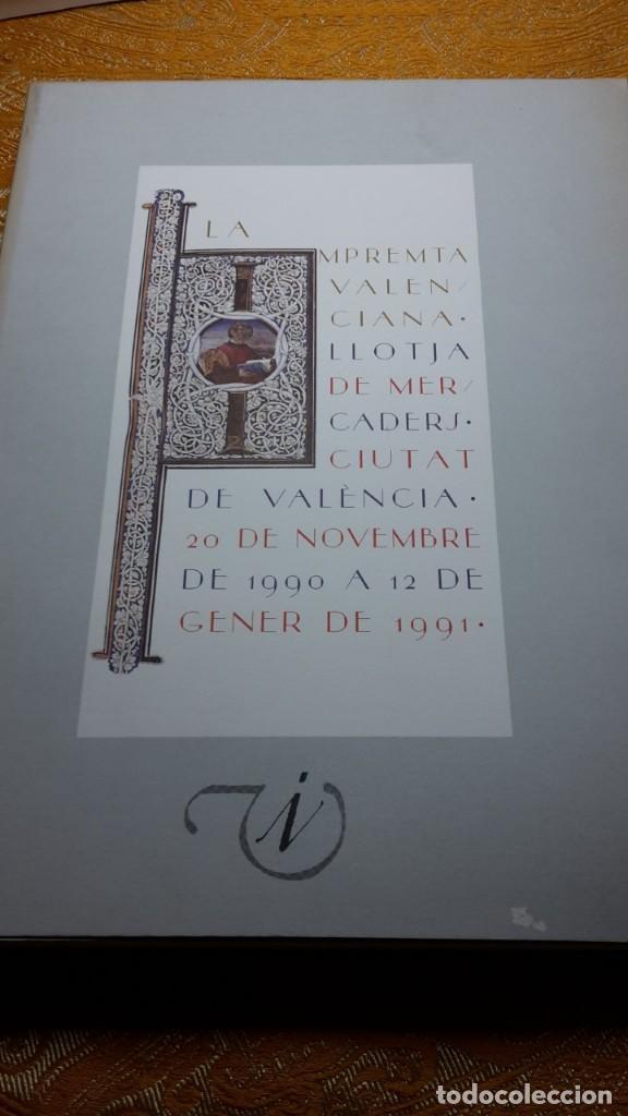LA IMPRENTA VALENCIANA (Libros Antiguos, Raros y Curiosos - Bellas artes, ocio y coleccionismo - Otros)