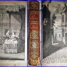 Libros antiguos: AÑO 1721: LAS MEMORIAS DEL MARISCAL DE BASSOMPIERRE. LIBRO ILUSTRADO DEL SIGLO XVIII.. Lote 119044467