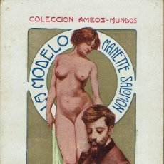 Libros antiguos: LA MODELO (MANETTE SALOMÓN), POR E. Y J. DE GONCOURT. 2 TOMOS. AÑO ¿? (14.3). Lote 119104267