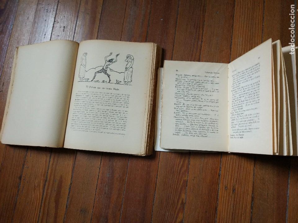 Libros antiguos: Eduardo Dieste: Buscón Poeta y su Teatro (Ilustrac. A. Souto) + Teatro de Buscón 1 Edic. 1933, 1947 - Foto 3 - 119128703