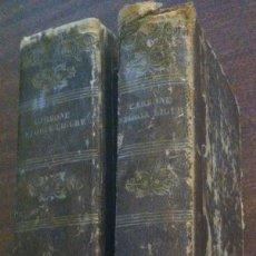 Libros antiguos: COMPENDIO DELLA STORIA LIGURE - GIUNIO CARBONE - GÉNOVA, 1836 (2 VOLÚMENES). Lote 119209971