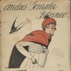 Libros antiguos: MADEMOISELLE MILAGROS, POR ANDRÉS GONZÁLEZ BLANCO. AÑO ¿1918? (6.3). Lote 119218615