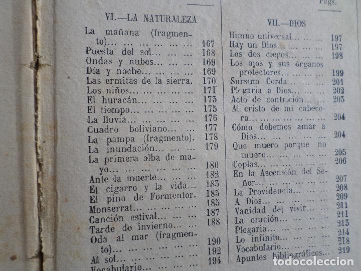 Libros antiguos: LIBRO DE ESCUELA RECITACIONES ESCOLARES 1921 - Foto 3 - 119246519