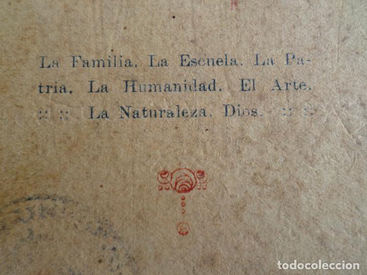 Libros antiguos: LIBRO DE ESCUELA RECITACIONES ESCOLARES 1921 - Foto 6 - 119246519