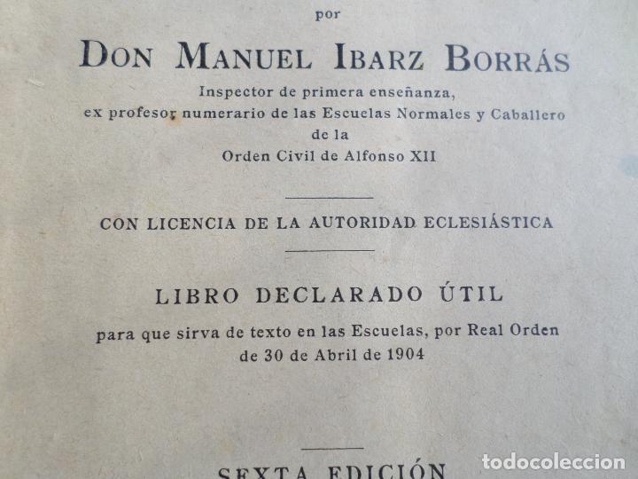 Libros antiguos: LIBRO PAGINAS SELECTAS DE D.MANUAL IBARZ 1912 - Foto 9 - 119246787