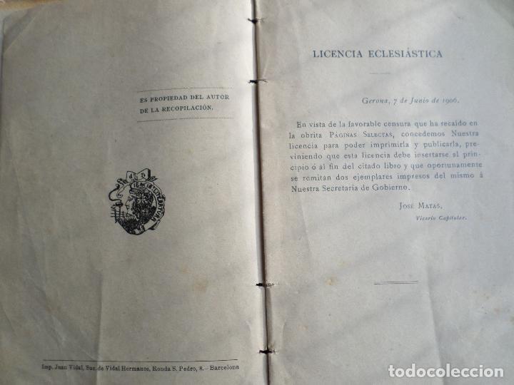 Libros antiguos: LIBRO PAGINAS SELECTAS DE D.MANUAL IBARZ 1912 - Foto 15 - 119246787