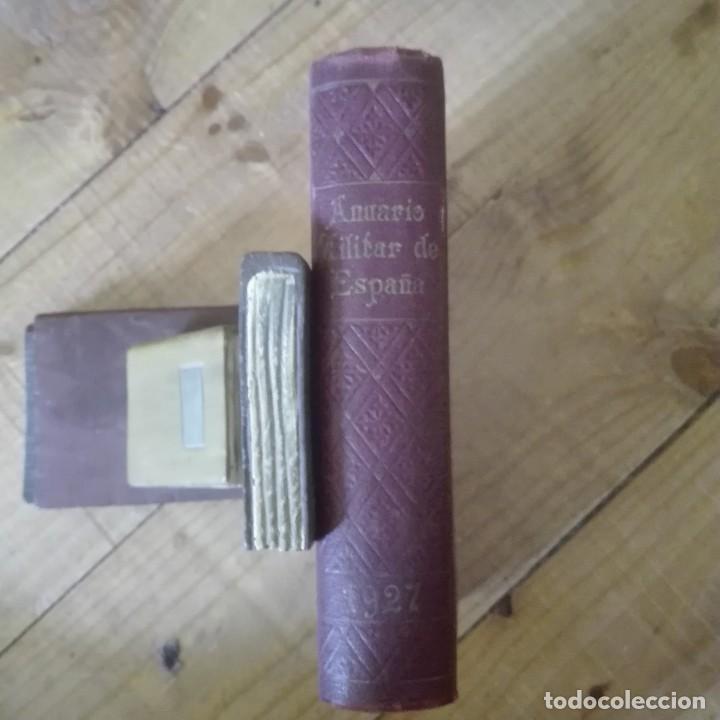ANUARIO MILITAR DE ESPAÑA 1927 (Libros Antiguos, Raros y Curiosos - Historia - Otros)