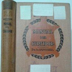 Libros antiguos: MANUAL DEL CURTIDOR 1930 AUGUSTO GANSSER 3ª EDICIÓN GUSTAVO GILI . Lote 119310219