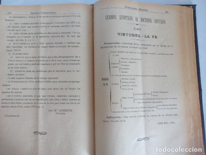 Libros antiguos: Revista catequística 1926/1927 - Foto 3 - 119362063