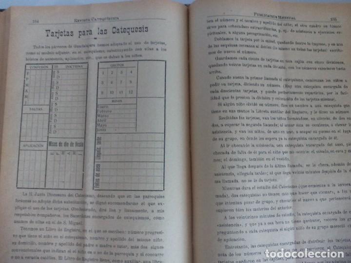 Libros antiguos: Revista catequística 1926/1927 - Foto 4 - 119362063