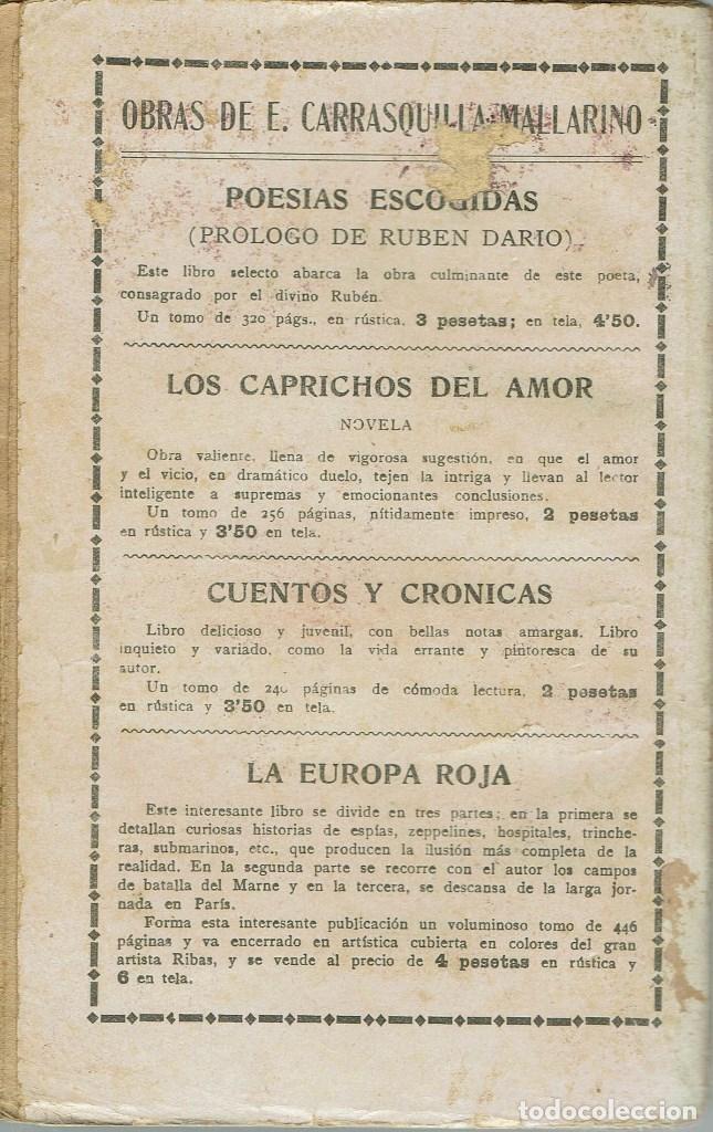 Libros antiguos: EL ESPÍA, POR MÁXIMO GORKI. AÑO ¿? (3.4) - Foto 2 - 119366911