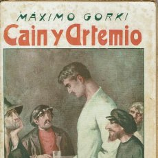 Libros antiguos: CAÍN Y ARTEMIO, POR MÁXIMO GORKI. AÑO ¿1902? (14.3). Lote 119367895