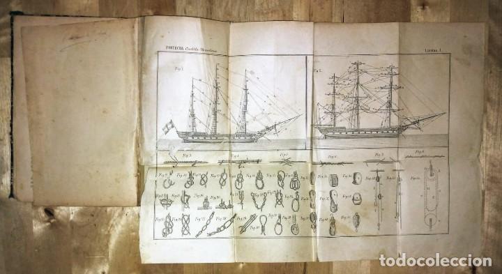 Libros antiguos: Fontecha grabados barcos de vela nautica - Foto 5 - 119392255