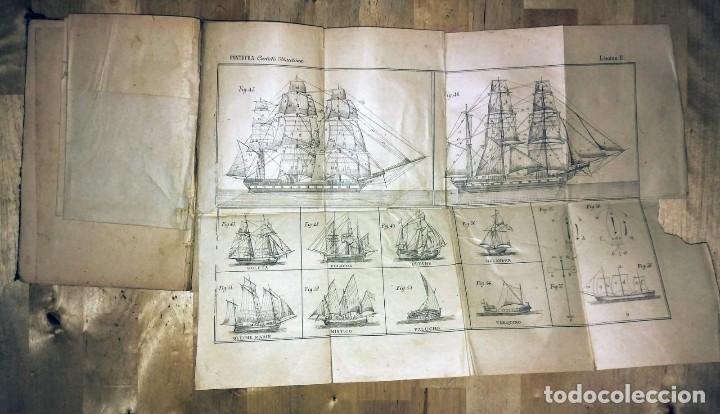 Libros antiguos: Cartilla maritima manual construcción y maniobras buques barcos vela veleros náutica Fontecha - Foto 6 - 119392255