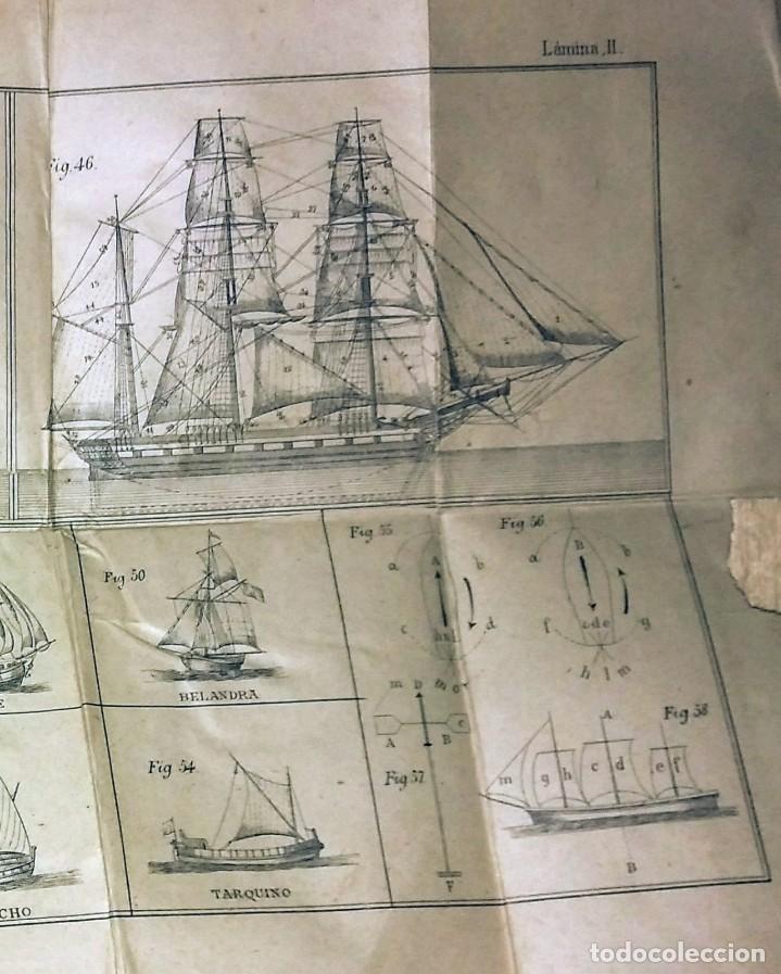Libros antiguos: Cartilla maritima manual construcción y maniobras buques barcos vela veleros náutica Fontecha - Foto 10 - 119392255