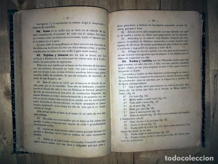 Libros antiguos: Cartilla maritima manual construcción y maniobras buques barcos vela veleros náutica Fontecha - Foto 11 - 119392255