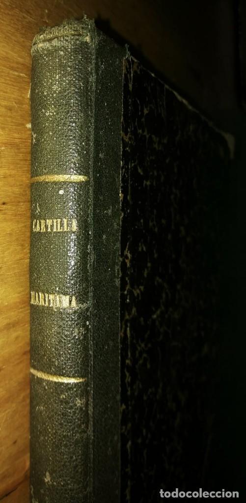 Libros antiguos: Cartilla maritima manual construcción y maniobras buques barcos vela veleros náutica Fontecha - Foto 13 - 119392255