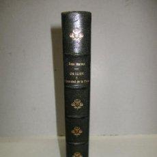 Libros antiguos: ORIGEN Y DIGNIDAD DE LA CAZA. - MATEOS, JUAN. - MADRID, 1928.. Lote 119421467