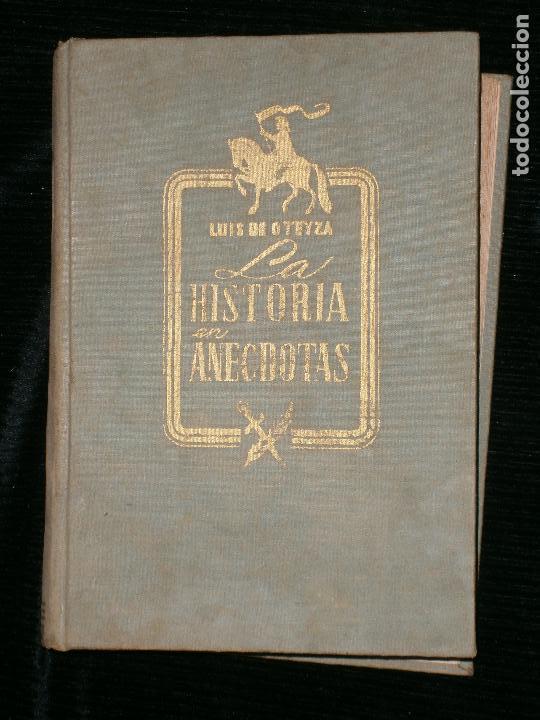 F1 LA HISTORIA EN ANECDOTAS LUIS DE OTEYZA (Libros Antiguos, Raros y Curiosos - Historia - Otros)