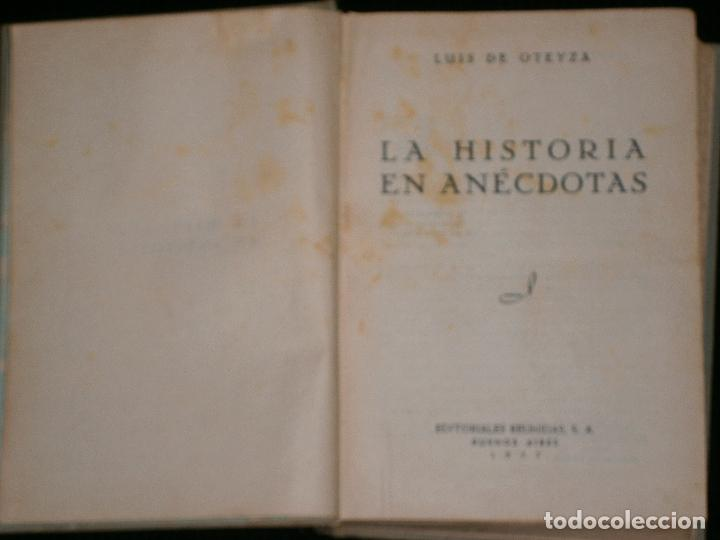 Libros antiguos: F1 LA HISTORIA EN ANECDOTAS LUIS DE OTEYZA - Foto 2 - 119426947