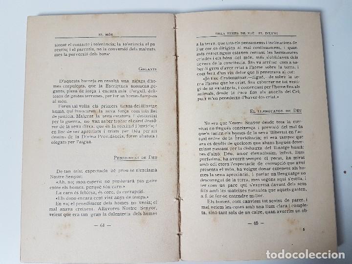 Libros antiguos: EL MON - NARRACIONS BÍBLIQUES ( TRULLÀS 1918 ) - Foto 4 - 119446923