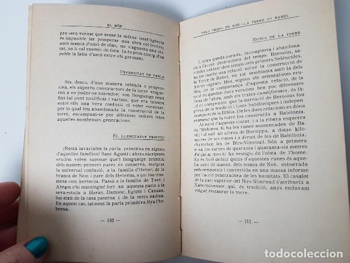 Libros antiguos: EL MON - NARRACIONS BÍBLIQUES ( TRULLÀS 1918 ) - Foto 5 - 119446923