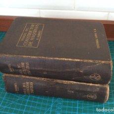 Libros antiguos: 1935 MANUAL DEL CONSTRUCTOR DE MÁQUINAS H. DUBBEL 2 VOLÚMENES. Lote 119460332