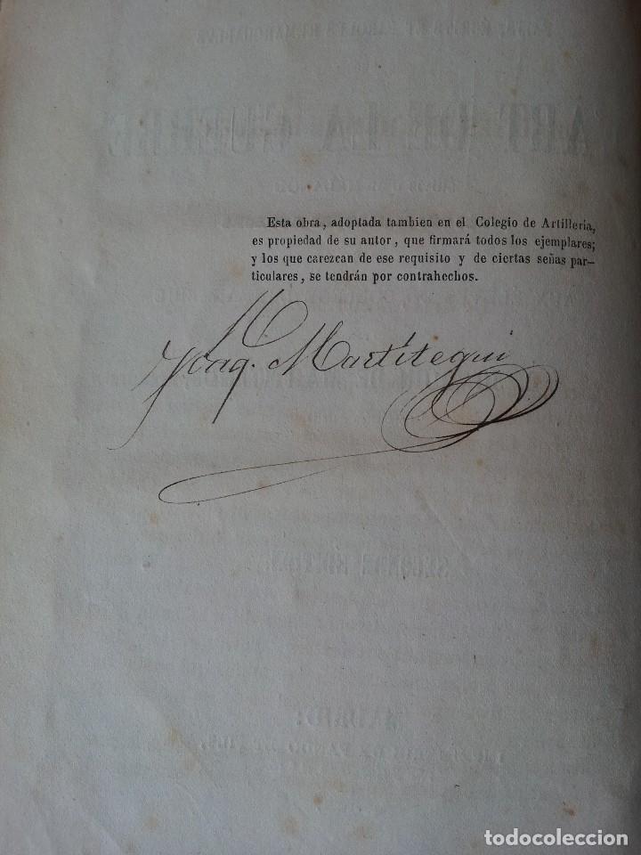 Libros antiguos: D.JOAQUIN DE MARTITEGUI - LART DE LA GUERRE - SECONDE EDITION 1865 - IDIOMA FRANCES - Foto 3 - 119530831
