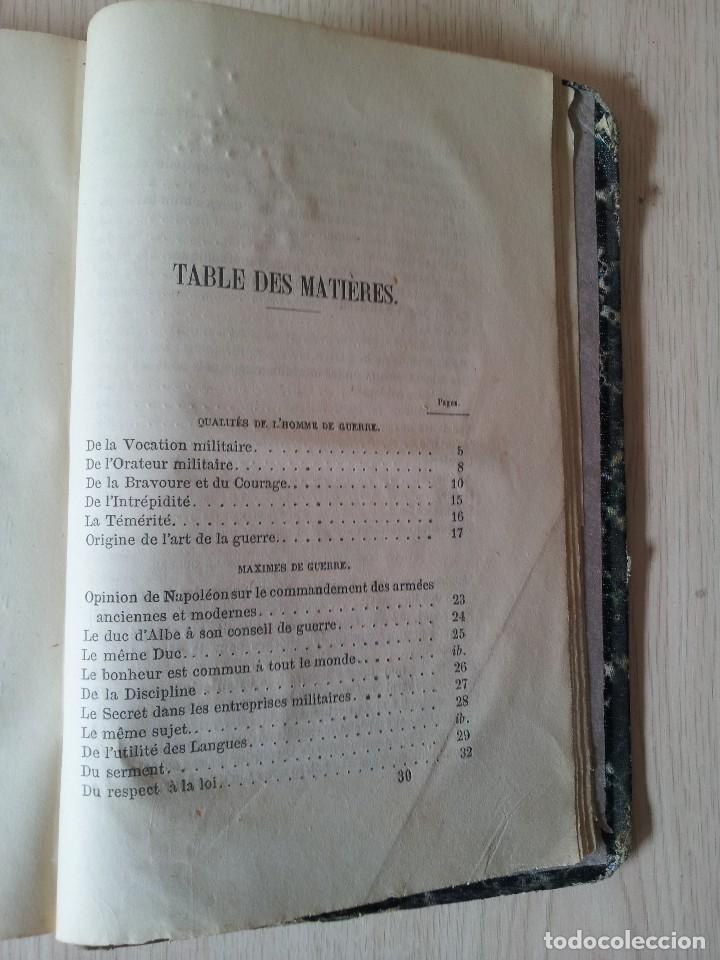 Libros antiguos: D.JOAQUIN DE MARTITEGUI - LART DE LA GUERRE - SECONDE EDITION 1865 - IDIOMA FRANCES - Foto 6 - 119530831