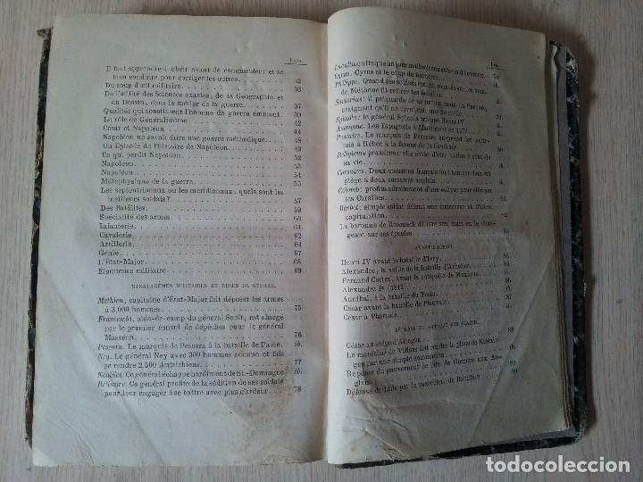 Libros antiguos: D.JOAQUIN DE MARTITEGUI - LART DE LA GUERRE - SECONDE EDITION 1865 - IDIOMA FRANCES - Foto 7 - 119530831