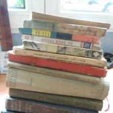 Libros antiguos: 13 LIBROS AÑOS 40/50. Lote 119549339
