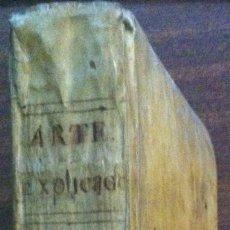 Libros antiguos: ARTE EXPLICADO Y GRAMÁTICO PERFECTO DIVIDO EN TRES PARTES - MARCOS MÁRQUEZ DE MEDINA 1817 PERGAMINO. Lote 119572207