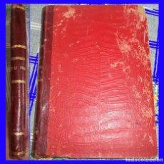 Libros antiguos: DICCIONARIO ILUSTRADO DESCRIPTIVO ... ARTES APAREJOS ... PESCA ... BENIGNO RODRÍGUEZ ORIGINAL 1911. Lote 119740819