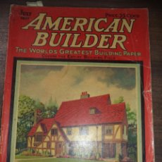 Libros antiguos: AMERICAN BUILDER. THE WORLD'S GREATEST BUILDING PAPER. VOL.41. Nº 4. JULY 1926. INGLES.. Lote 119846251