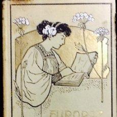 Libros antiguos: EUROPA MODERNA , OCCIDENTE - ALFREDO OPISSO . BARCELONA 1907. Lote 119884203