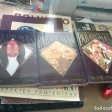 Libros antiguos: LOTE DE 3 LIBROS DE LA COLECCION PARADIGMAS MITOS, ENIGMAS Y LEYENDAS CONTEMPORANEAS. Lote 119929383