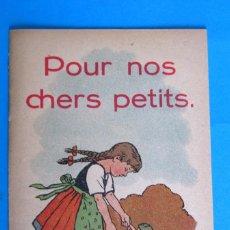 Libros antiguos - CUENTO INFANTIL. POUR NOS CHERS PETITS. S/F. - 119959759