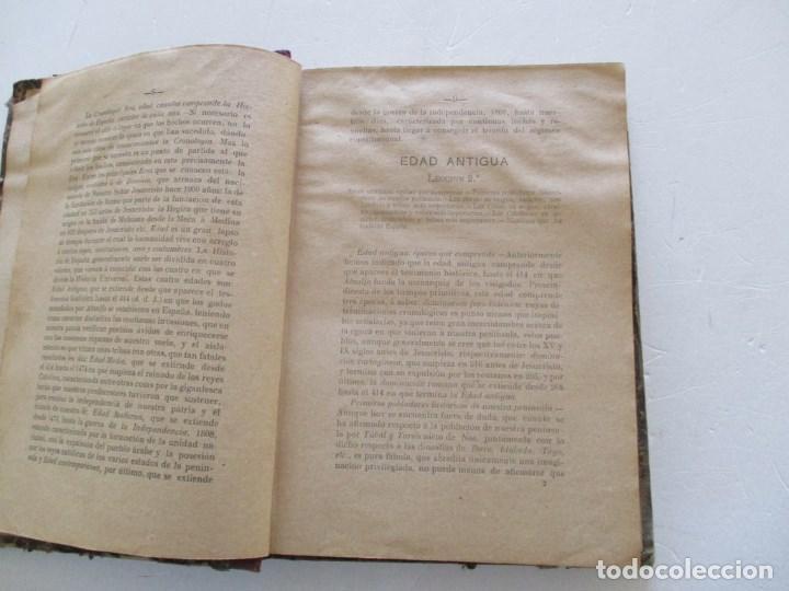 Libros antiguos: D. MARCOS M. DE LA CALLE Compendio de Historia de España. Tomo 1 y 2 RM86142 - Foto 4 - 119970467