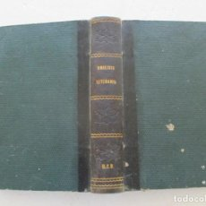 Libros antiguos: D. RAMÓN CASAL Y AMENEDO EJERCICIOS DE ANÁLISIS LITERARIO Y COLECCIÓN DE PIEZAS SELECTAS RM86145. Lote 119971331