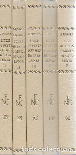 Libros antiguos: Llibre de feyts d armes de Catalunya / Bernat Boades. BCN : Barcino, 1930-1948. 5 vols. 17x11 cm. - Foto 2 - 119995495
