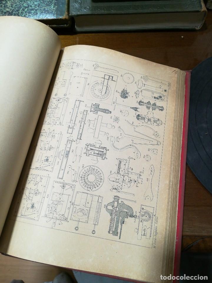 Libros antiguos: El cerrajero moderno - Foto 5 - 120026319