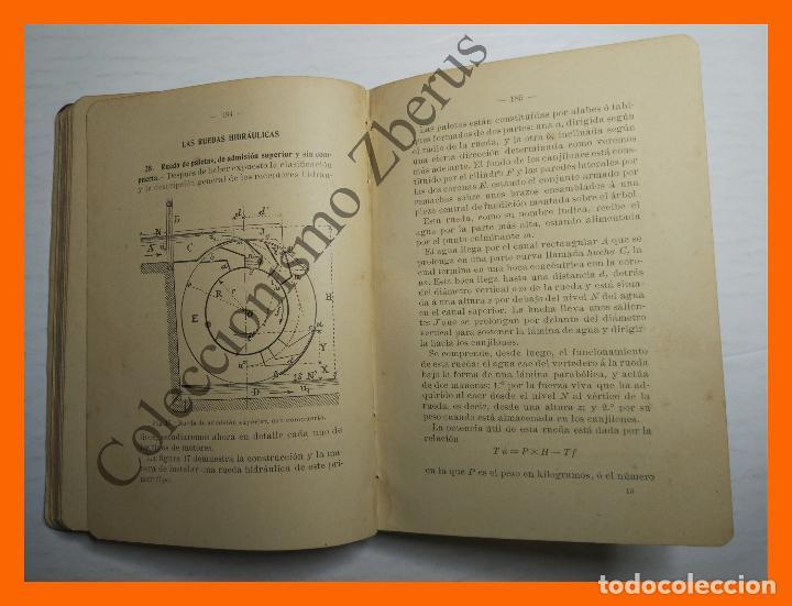 Libros antiguos: Manual de Hidraulica - R. Busquet - Foto 2 - 120066795