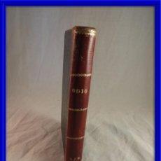 Libros antiguos: ODIO NOVELAS CORTAS DE ALFONSO DAVILA. Lote 120113823