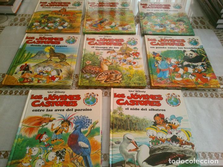 LOTE DE 8 LIBROS DE LOS JOVENES CASTORES DE WALT DISNEY (Libros Antiguos, Raros y Curiosos - Literatura Infantil y Juvenil - Otros)