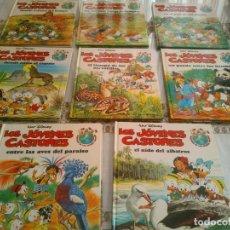 Libros antiguos: LOTE DE 8 LIBROS DE LOS JOVENES CASTORES DE WALT DISNEY. Lote 120135691