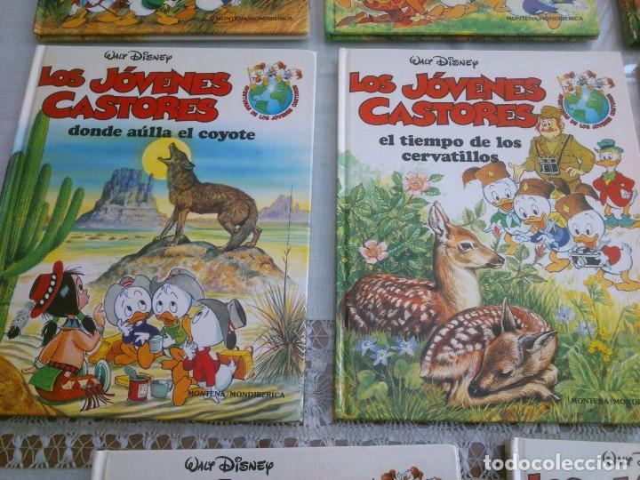 Libros antiguos: LOTE DE 8 LIBROS DE LOS JOVENES CASTORES DE WALT DISNEY - Foto 4 - 120135691