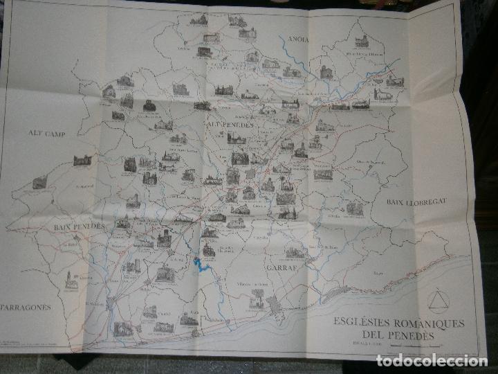 Libros antiguos: F1 ESGLESIAS ROMANIQUES DEL PENEDES ESTEVE CRUAÑES I OLIVER 1980 ILUSTRADO EN CATALAN - Foto 2 - 120188523